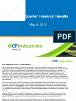 CF Industries Presentation May 2016