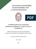 2 Comportamiento de Conexiones Empernadas-Tesis UNI-2011