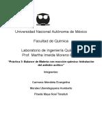 Reporte práctica 3  LIQ UNAM FQ