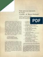 Notas Para Un Comentario de Textos, Castilla de Manuel Machado