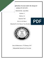 Anant Ekka, Sec-A, Roll No. 26, DPC