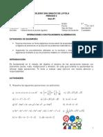 1 Polinomios Algebraicos