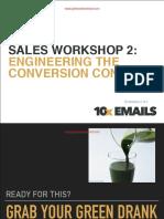 Sales Workshop Part 2