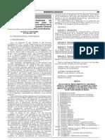 DS. 010-2017-SA - Relación Actualizada de Medicamentos e Insumos Para Diabetes Inafectos al IGV y Aranceles