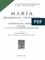 BOVER-Maria Medianera Universal