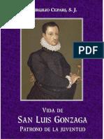 CEPARI-Vida de S. Luis Gonzaga, Patrono de La Juventud