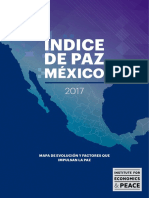 Reporte de Paz en México 2017