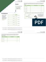 Guía tercero Cuaderno N°8 Calculo mental 2