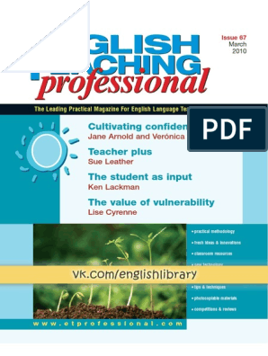 English Teaching Professional 67 March 2010 | Self Esteem