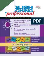 English Teaching Professional 71 Nov 2010