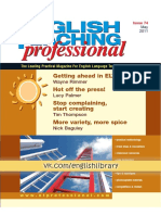 English Teaching Professional 74 May 2011
