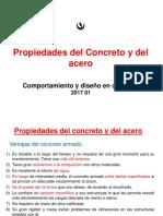 Propied Del Concreto y El Acero