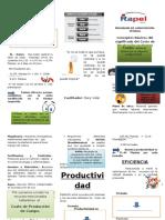 Programa de Capacitación- Administración de Costos