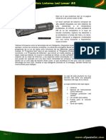 Análisis Linterna Led Lenser M8