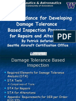 DTA Guidelines for Repairs and Alterations