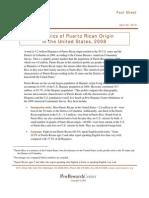 Hispanics of Puerto Rican Origin in the United States