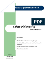 Caiete Diplomatice 2