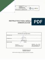 Eca9-i56-10-r0 - Instructivo Para Señalizacion y Demarcacion