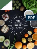 101 Recetas Simples y Saludables eBook