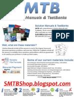 SMTB - Solution Manuals & TestBanks