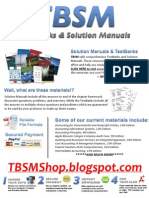 TBSM - TestBanks & Solution Manuals