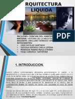 Arquitectura Liquida Diapositiva Presentacion