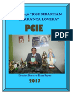 Proyecto Curricular de la Institucion Educativa N° 1156  JSBL- Ccesa007