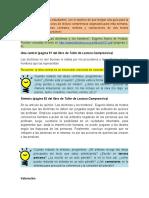 Ejemplos Sobre La Redacción de Ideas Centrales. Síntesis y Valoraciones