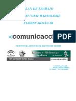 Plan de Trabajo Comunicacion 16-17