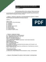 Configuracion de Un Panel de Intrusion Electronica