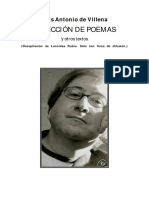 Poesía de Antonio de Villena