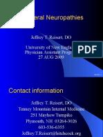 NEPeripheral Neuropathies