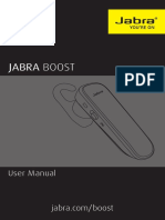 Jabra Boost User Manual RevC En
