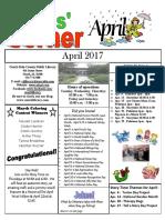 Kids Corner April 2017