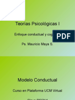 Clase I Teorias Psicologicas I
