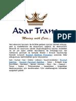 Adar Trans