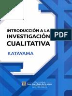 Introducción a la investigación cualitativa Fundamentos-métodos-estrategias y técnicas