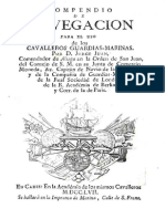 Compendio de Navegacion Para El Uso de Los Cavalleros Guardias Marinas 0