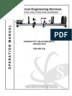 Emissivity Measurement Apparatus (EES-HE-LH)