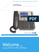 BT Falcon Mk2 IP Phone User Guide