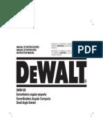 MANUAL DE USUARIO DEWALT DWE4120
