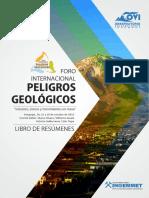 Libro de Resúmenes - Foro Internacional de Peligros Geológicos INGEMMET - OVI