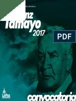 Convocatoria Franz Tamayo 2017