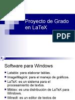 Proyecto de Grado en LaTeX