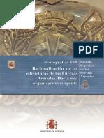 138 Racionalizacion de Las Estructuras de Las Fuerzas Armadas Hacia Una Organizacion Conjunta