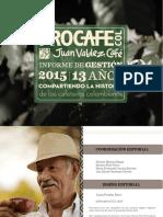 Informe de Gestion 2015 de Juan Valdes