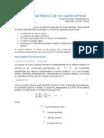 Modelado Matematico de Un Cuadricoptero v2
