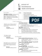 dunn resume