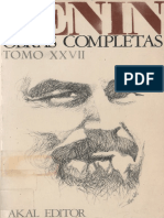 Obras Completas. Tomo 27-Lenin