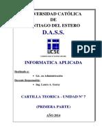 Cartilla Unidad 7 - Word Avanzado -